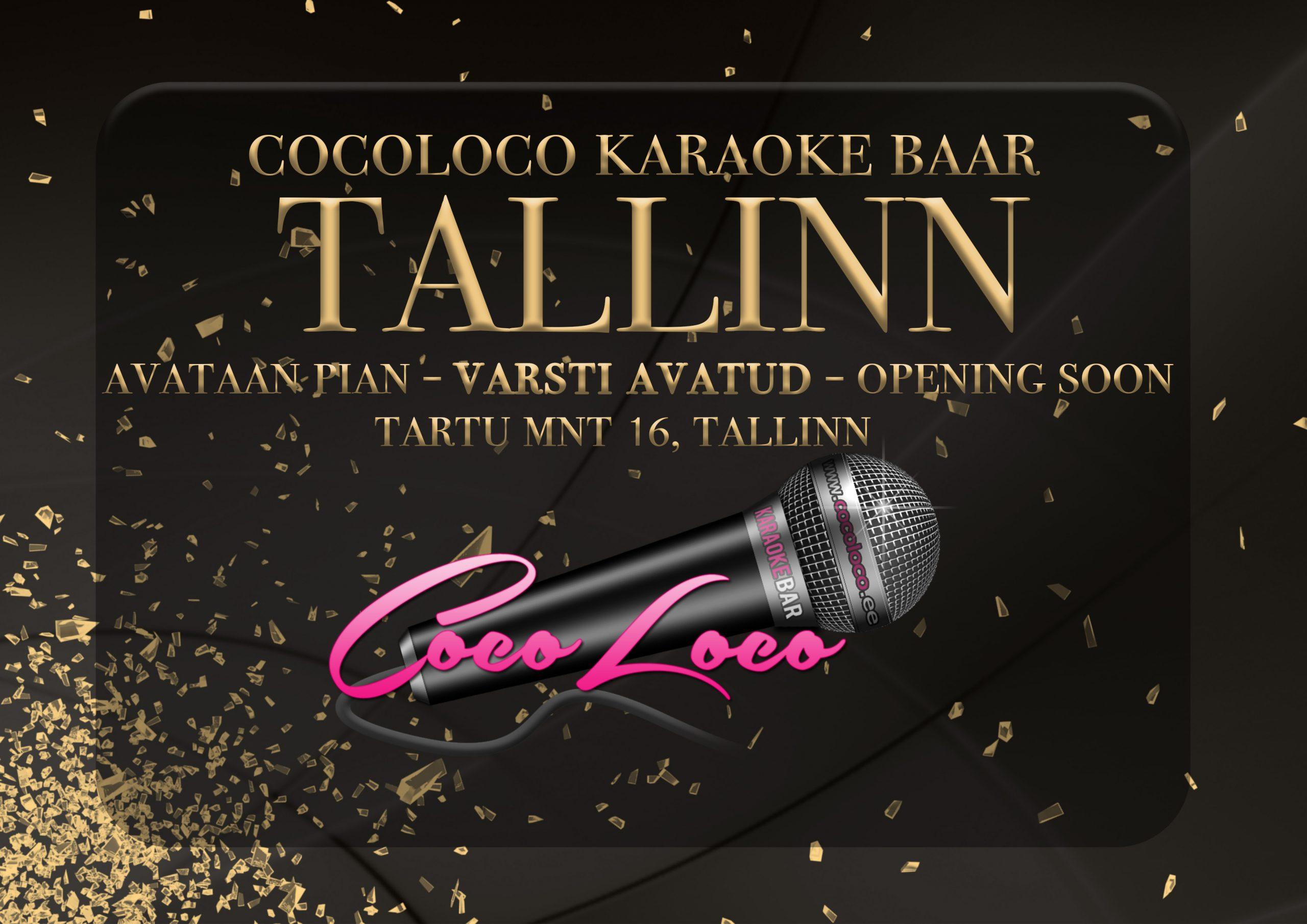CocoLoco varsti avatud ka Tallinnas!